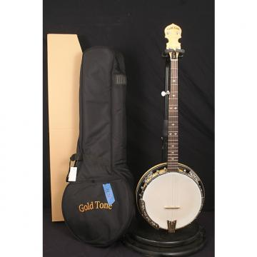 Custom NEW Gold Tone MC150R/P 5 string flathead banjo Maple Classic w/ resonator + planet pegs + hard case