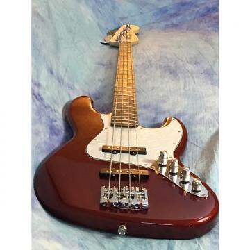 Custom Squier  Affinity Jazz Bass Red