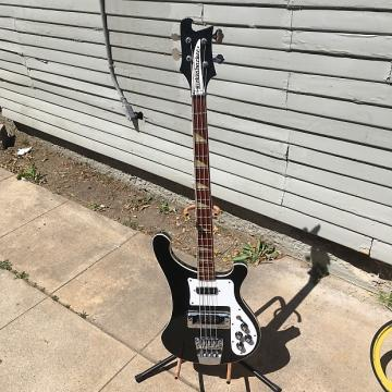 Custom Rickenbacker 4003 1993 Jetglo-Black-Original Case Included