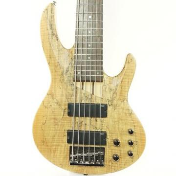 Custom Used LTD B-206SM Bass Guitar Natural