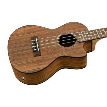 Custom Cordoba 23T-CE Tenor Solid Top Ovangkol Electric Uke
