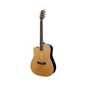 Custom Boulder Creek Solitaire Dreadnought Guitar ECR4NS-L 2017 Cedar, Rosewood