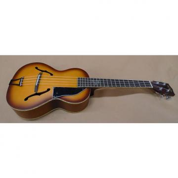 Custom Kala KA-JTE-HBC Custom Archtop Acoustic Tenor Ukulele Honeyburst Jazz Uke