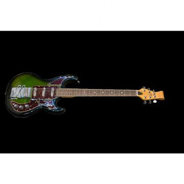 Custom Burns of London LTD - Club Series Barracuda (Bass VI) 2016 Greenburst