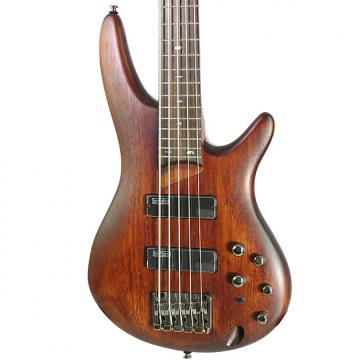 Custom Brand New Ibanez SR505 Brown Electric Bass