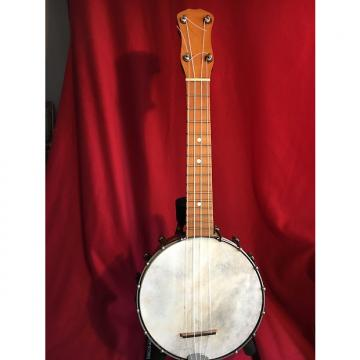 Custom Vintage Banjo Ukulele, Banjolele, Maple Construction, Set Up To Play
