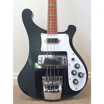 Custom 1991 Rickenbacker 4003 Black Jetglo Bass in great condition