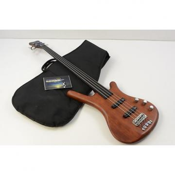 Custom 1998 Warwick Fretless Corvette Standard 4 String Bass w/Gig Bag