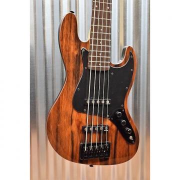 Custom Michael Kelly CCE5EB Custom Element 5 Sting Bass Guitar Striped Ebony Top & Bag