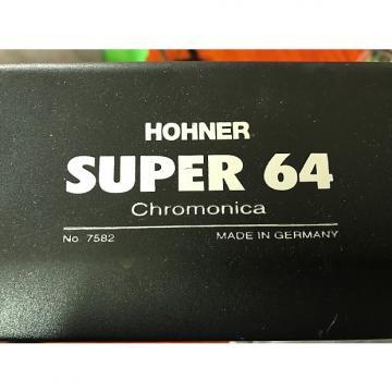 Custom Hohner Super 64 Chromonica 7582/64 Stainless Steel