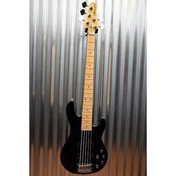Custom G&L Tribute M-2500 5 String Electric  Bass Black Maple Neck & Case M2500 #2548