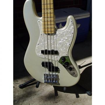 Custom Fender  blacktop custom jazz Blizzard pearl