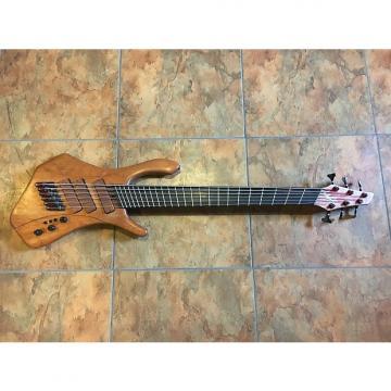 Custom JW Custom 6 String Electric Bass Guitar Fanned Frets WOW Magnetic Electronics