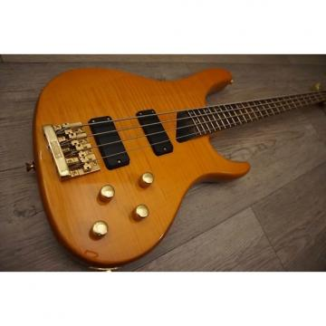 Custom Washburn XB800 Bass Guitar 1991 Amber Natural
