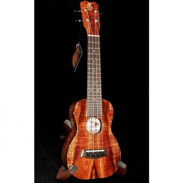 Custom Kanile'a  K-2 S Solid Premium Koa Gloss Soprano Ukulele with Case