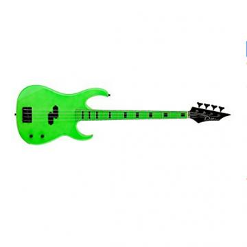 Custom Dean Custom Zone Bass, Nuclear Green