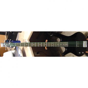 Custom 2014 Ibanez Gio SoundGear GSR100EXL Gloss Ebony Finish Left-Handed Passive Electric Bass Guitar
