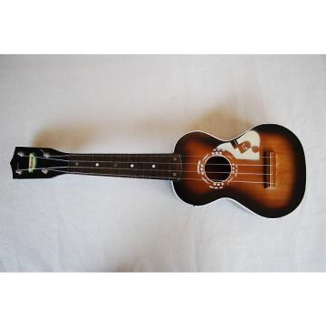 Custom Harmony Music note ukulele - soprano 50's Sunburst