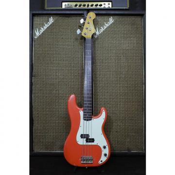 Custom Fender FENDER PRECISION BASS FIESTA RED SERIE L 1964 1964 Fiesta Red