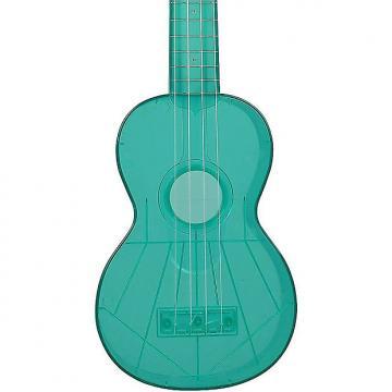 Custom Kala Waterman KA-SWF-BL Fluorescent Blue Raspberry Soprano Ukulele