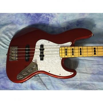 Custom Fender Squire Vintage Modified Jazz Bass® '70s Red / w Upgrades