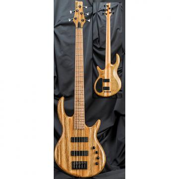Custom Kiesel Carvin IC5 Icon 5-String Electric Bass Guitar 2016 Zebrawood Top w/ Soft Case