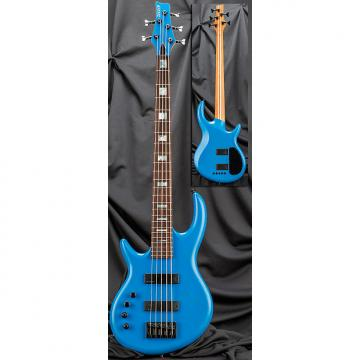Custom Kiesel Carvin IC5 Icon Left Handed 5-String Electric Bass Guitar 2016 Grabber Blue w/ Soft Case