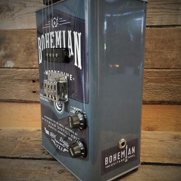 Custom Bohemian Oil Can Ukulele - Moonshine