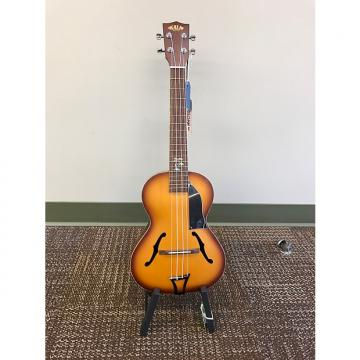Custom Kala Archtop Tenor Ukulele w/Tailpiece and Pickguard