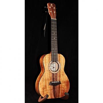 Custom Kanilea K-3 T Solid Premium Curly Koa Tenor Ukulele With Case