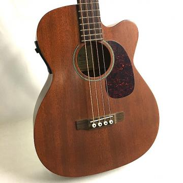 Custom Martin BC-15E Acoustic/Electric Bass 2004 Natural Mahogany