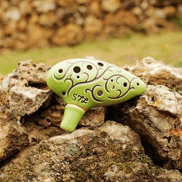 "Custom 12 Hole Tenor Ocarina ""The Hobbit"""