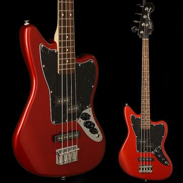 Custom Squier Vintage Modified Jaguar Bass Special Rosewood Fingerboard Candy Apple Red