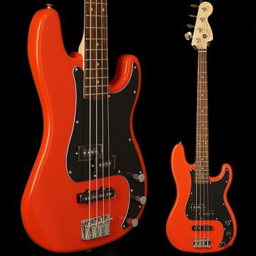 Custom Squier Affinity Series Precision Bass PJ, Rosewood Fingerboard, Race Red