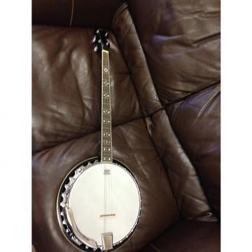 Custom TYLER MOUNTAIN 4 String Tenor Banjo Brown walnut stain