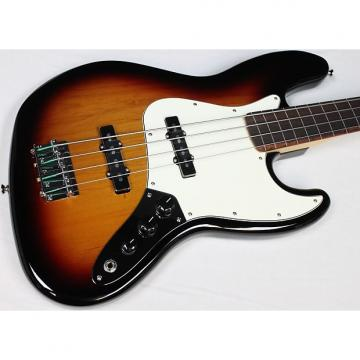Custom Fender Standard Jazz Bass Fretless, Brown Sunburst, Rosewood FB, NEW! #39882