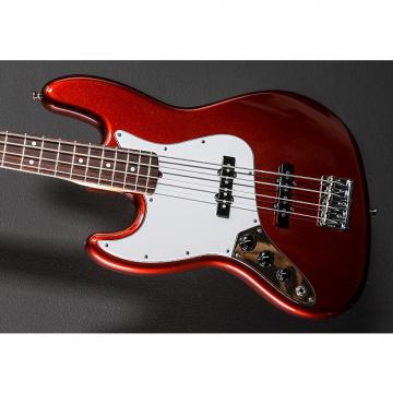Custom Fender American Standard Jazz Bass Left Hand 2013 Mystic Red