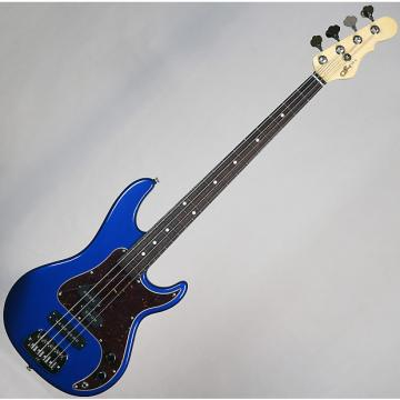 Custom G&L USA SB-2 Electric Bass Midnight Blue Metallic