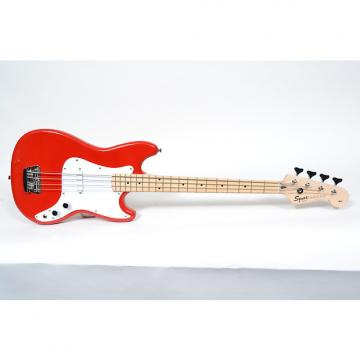 Custom Fender Squier Bronco Bass Electric Bass - Torino Red - Free Same Day Shipping!