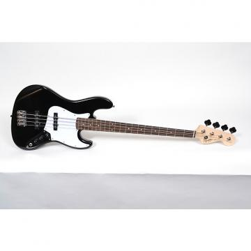 Custom Fender Squier Affinity Jazz Bass - Rosewood Fingerboard, Black Open Box