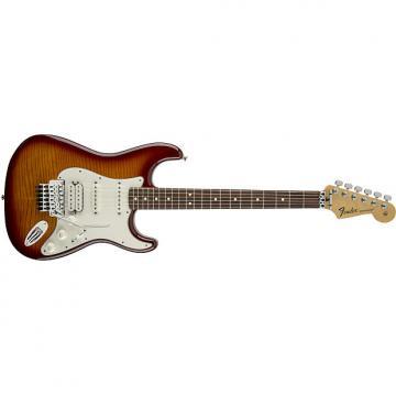 Custom Fender Standard Stratocaster® Plus Top with Floyd Rose® Tremolo, Rosewood Fingerboard, Tobacco Sunburst - Default title