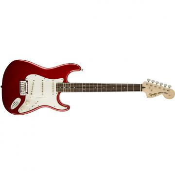 Custom Squier® Standard Stratocaster® Candy Apple Red