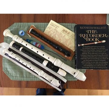Custom Four Recorders, an excellent Recorder book, and more