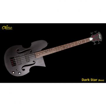 Custom Oriolo Darkstar Bass 2017 Black Satin