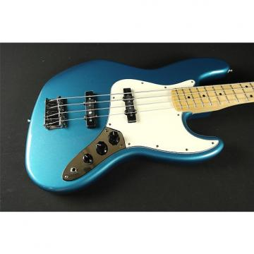 Custom Fender Standard Jazz Bass - Maple Fingerboard - Lake Placid Blue (873)