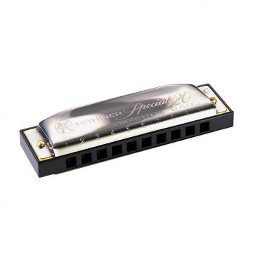Custom Hohner M560086x Progressive Series 560 Special 20 Harmonica Key of G