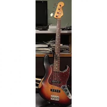 Custom Fender Road Worn 60s Jazz Bass 2009 3 Color Sunburst