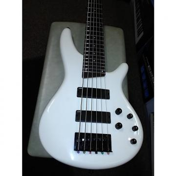Custom Ibanez SR256PW 6 String Bass Guitar Active Pickups  Pearl White