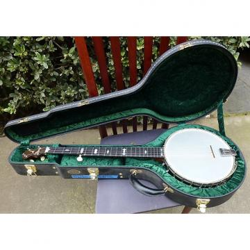Custom Cole's Eclipse Man In The Moon circa 1896 5 String Banjo - Museum Quality