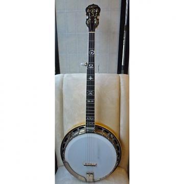 Custom Goldstar G-12W 5 String Banjo 1985 Ultra Rare Pristine Archtop